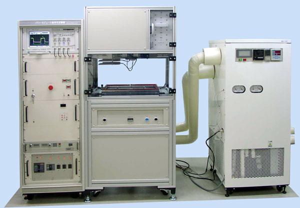 パワ-モジュ-ル動特性検査装置(加熱/冷却用チャンバー付き)